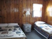 The third bedroom in Cabin #11.